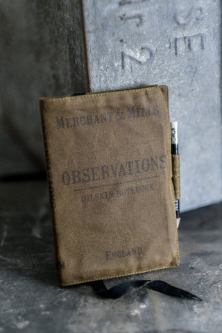 Observations Oilskin Notebook