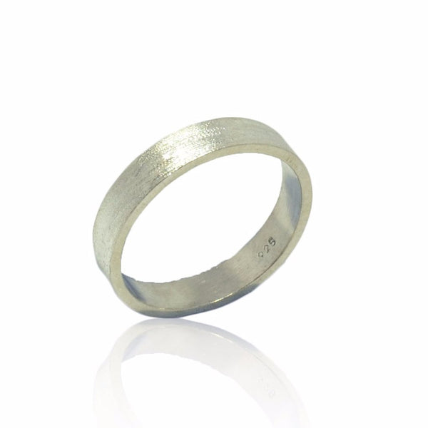 WDTS 925 SILVER Polished Band