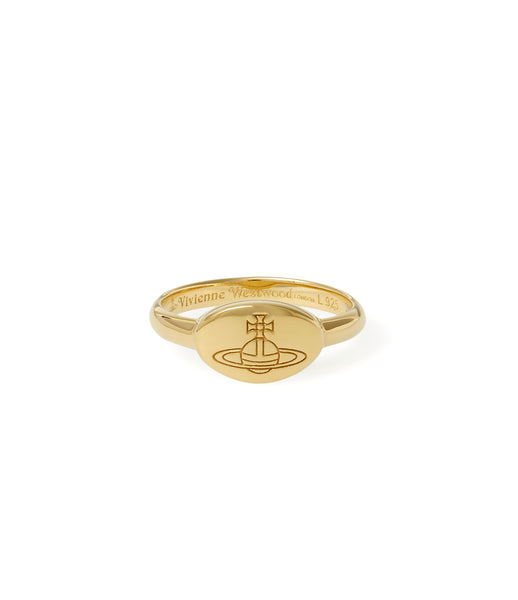 Vivienne Westwood Tilly Ring - yellow gold
