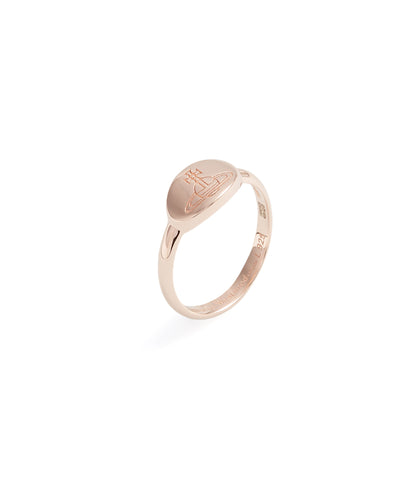Vivienne Westwood Tilly Ring - pink gold