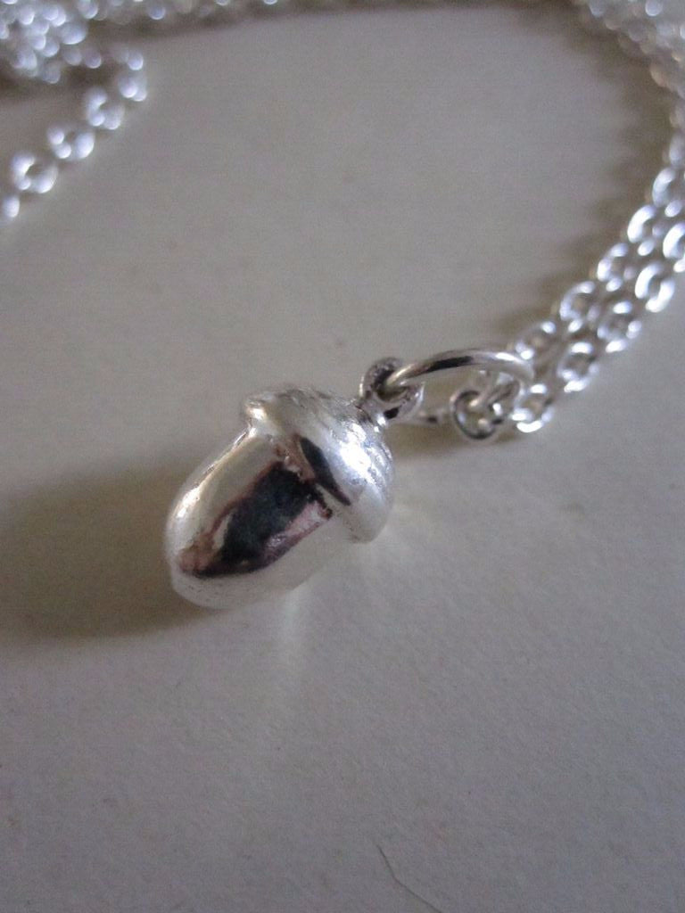CollardManson 925 silver Acorn Necklace