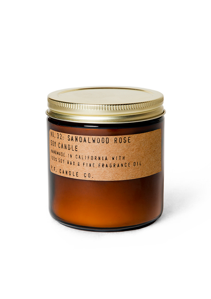 P.F Sandalwood Rose 7.2 oz candle