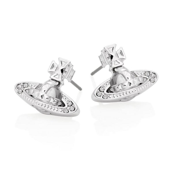 Vivienne Westwood Pina Bas Earrings - Rhodium