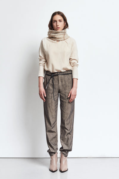 AW19 Humanoid Blue Trousers- Hemp