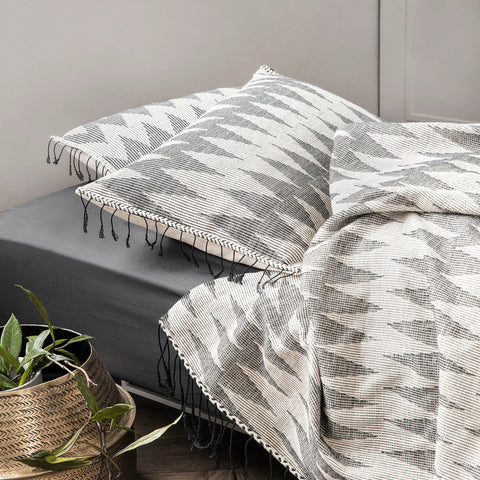 Totem Cushion - Grey