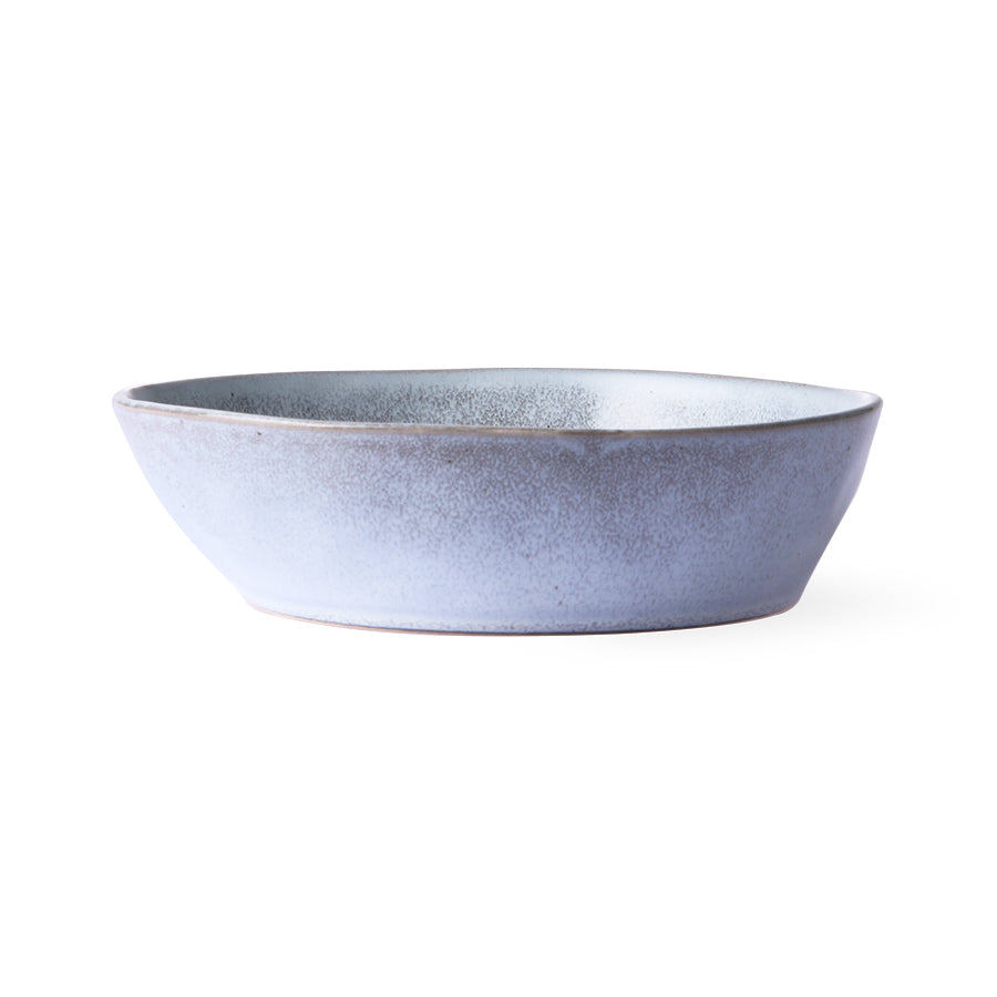 bold & basic ceramics: rustic grey bowl m - set of 2