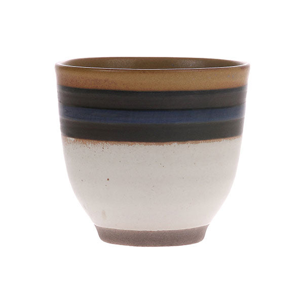 Kyoto Ceramics: Blue Striped Mug