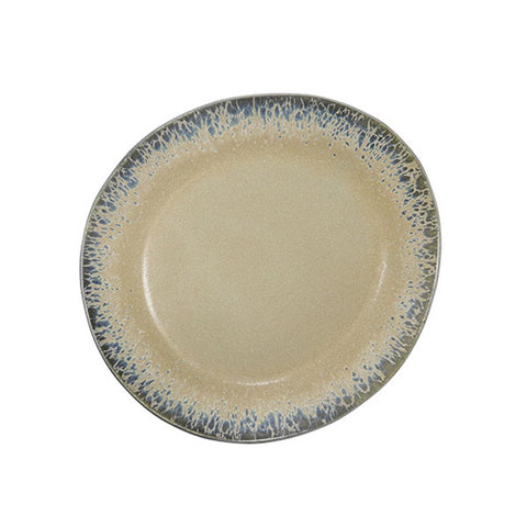 70s Ceramic Side Plate - bark