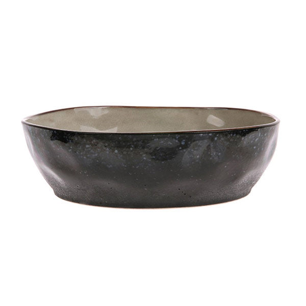 Ceramic 70's Pasta Bowls: Set of 2 : Galaxy