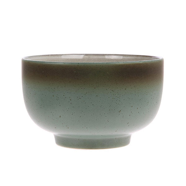 ceramic 70's bowl: moon