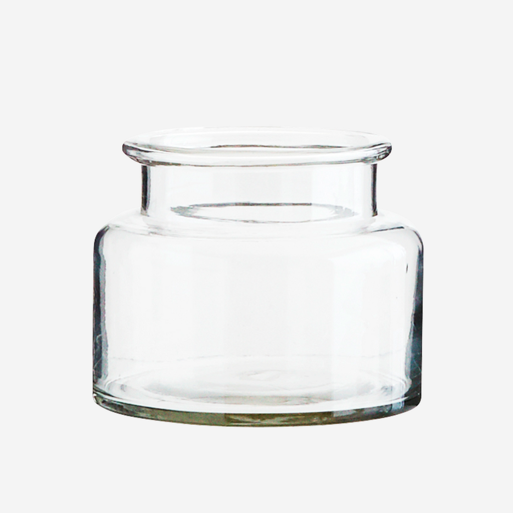 Small Glass Vase, Clear