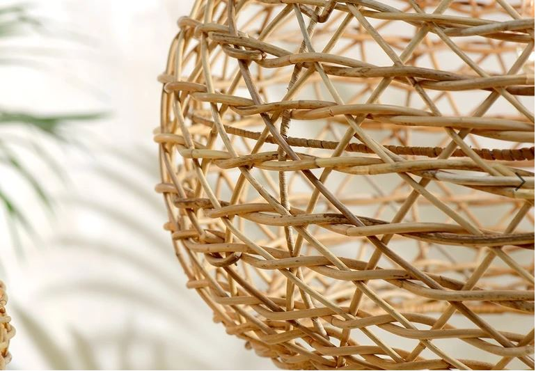 Beru Rattan Lampshade - Small Conical