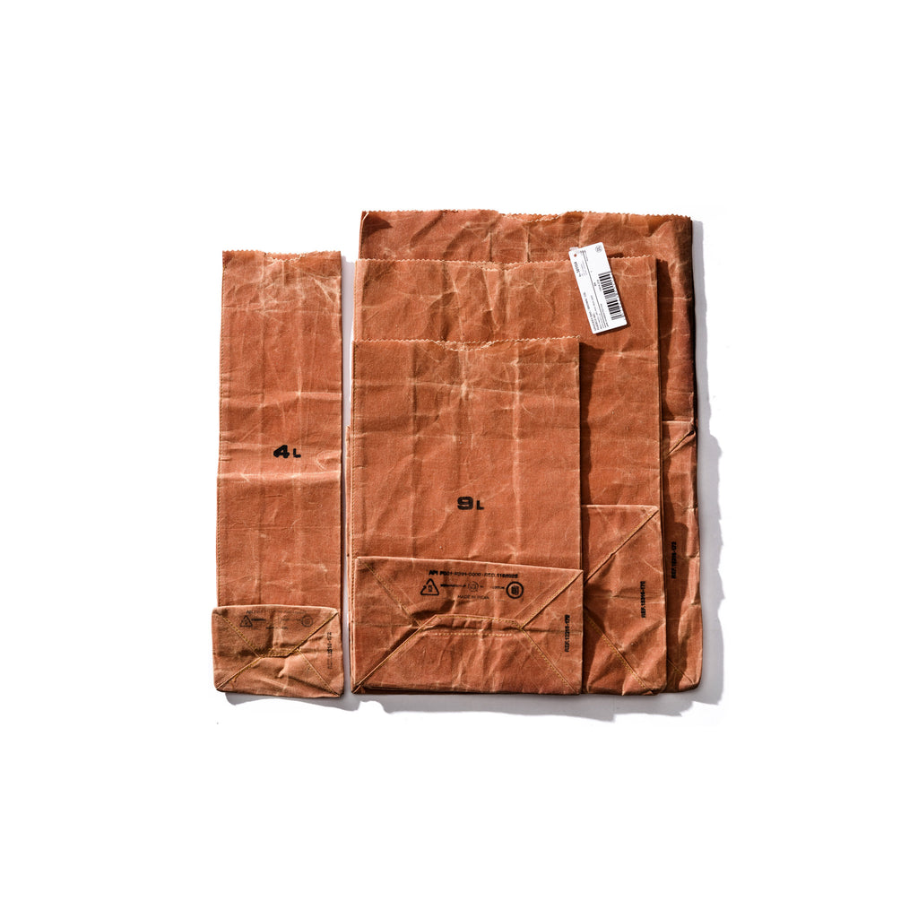 Brown Cotton Grocery Bag - 9L