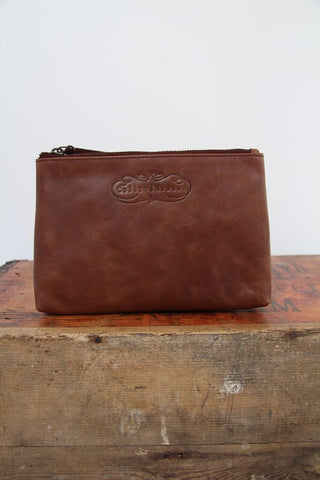 CollardManson Tan leather Pouch
