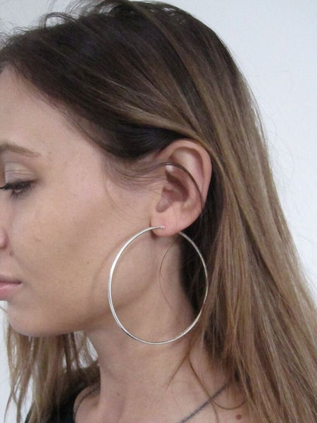 925 Silver Hoop Earrings