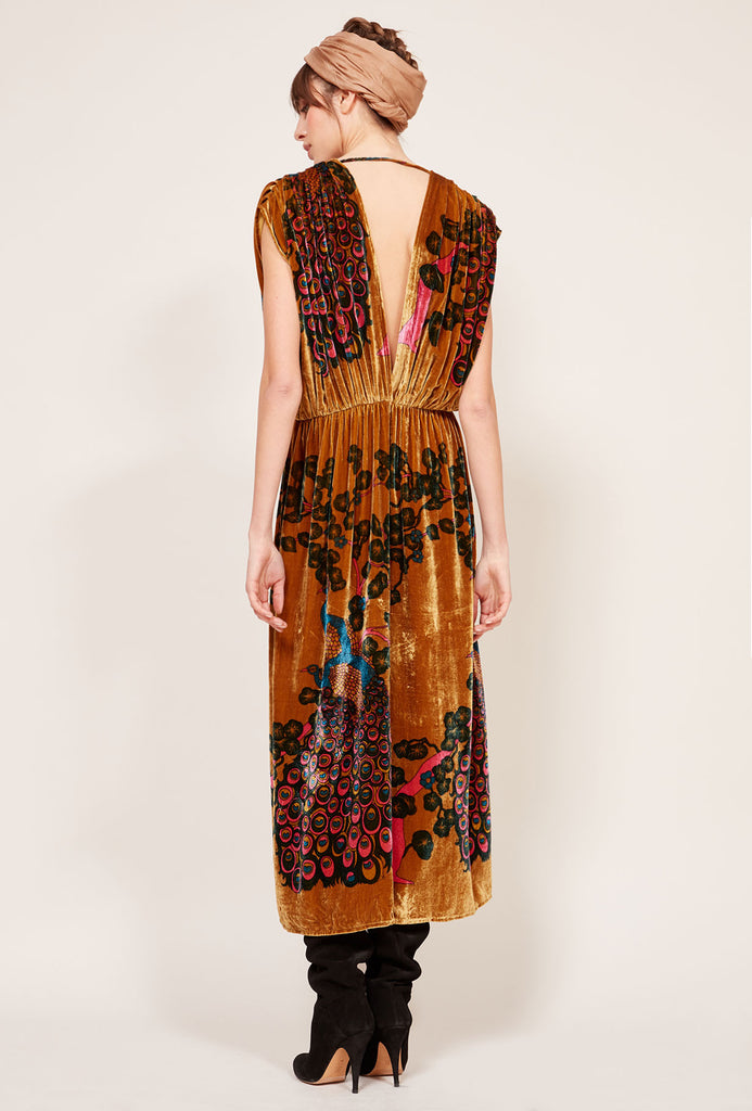 Mes Demoiselles AW19 Plumage Dress