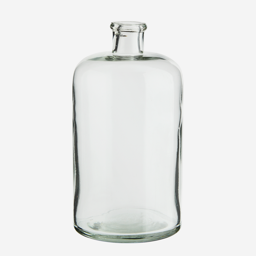 Glass Vase, Clear