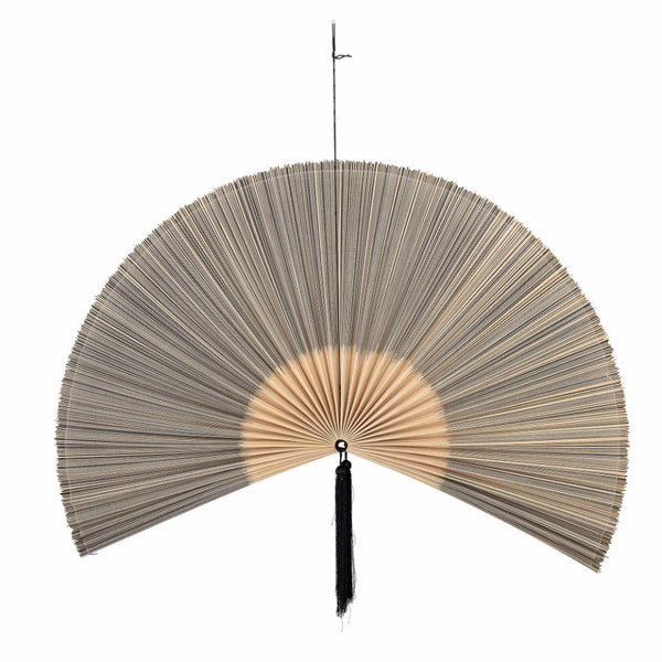 Jaime Wall Decor, Black, Bamboo