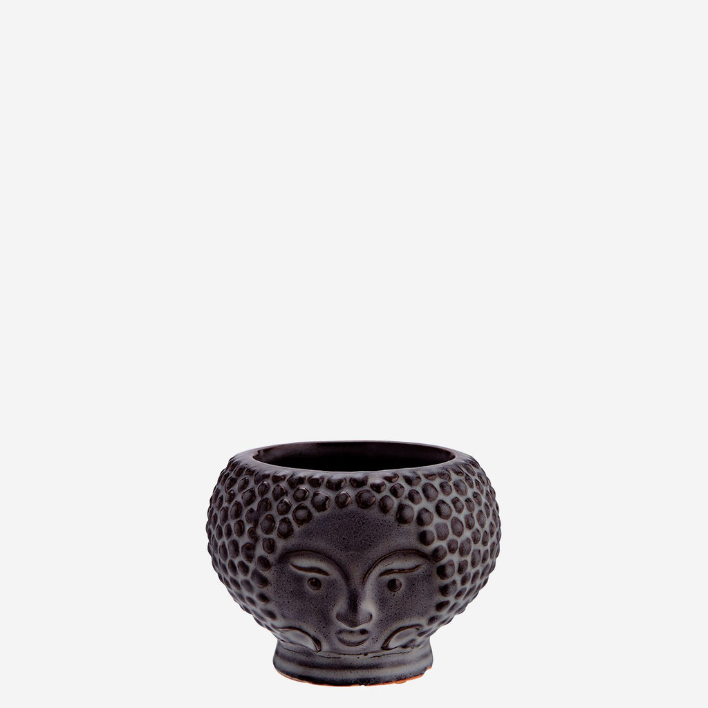 Flower Pot w/Face Imprint small