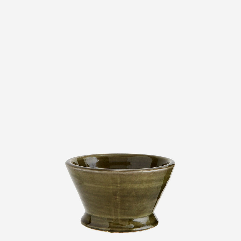 Ceramic Bowl - Green, Terra Cotta
