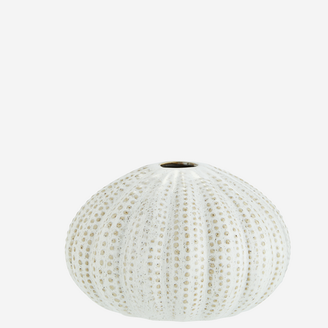 Sea Urchins Vase- Cream