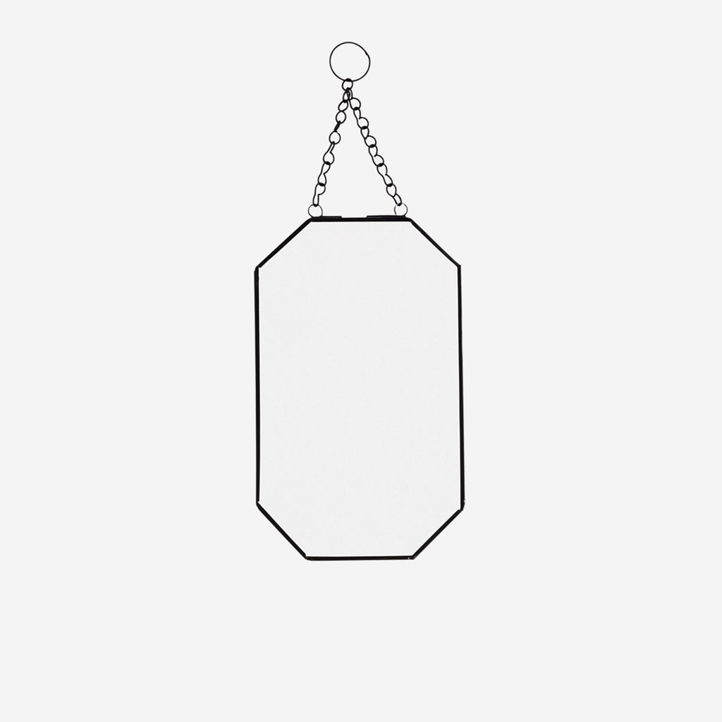 Shaped Hanging Mirror