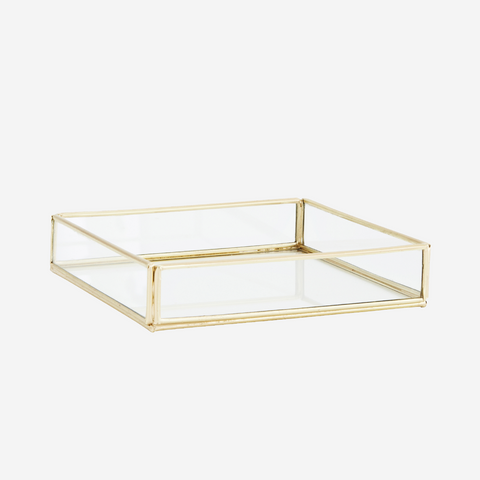 QUADRATIC GLASS TRAY