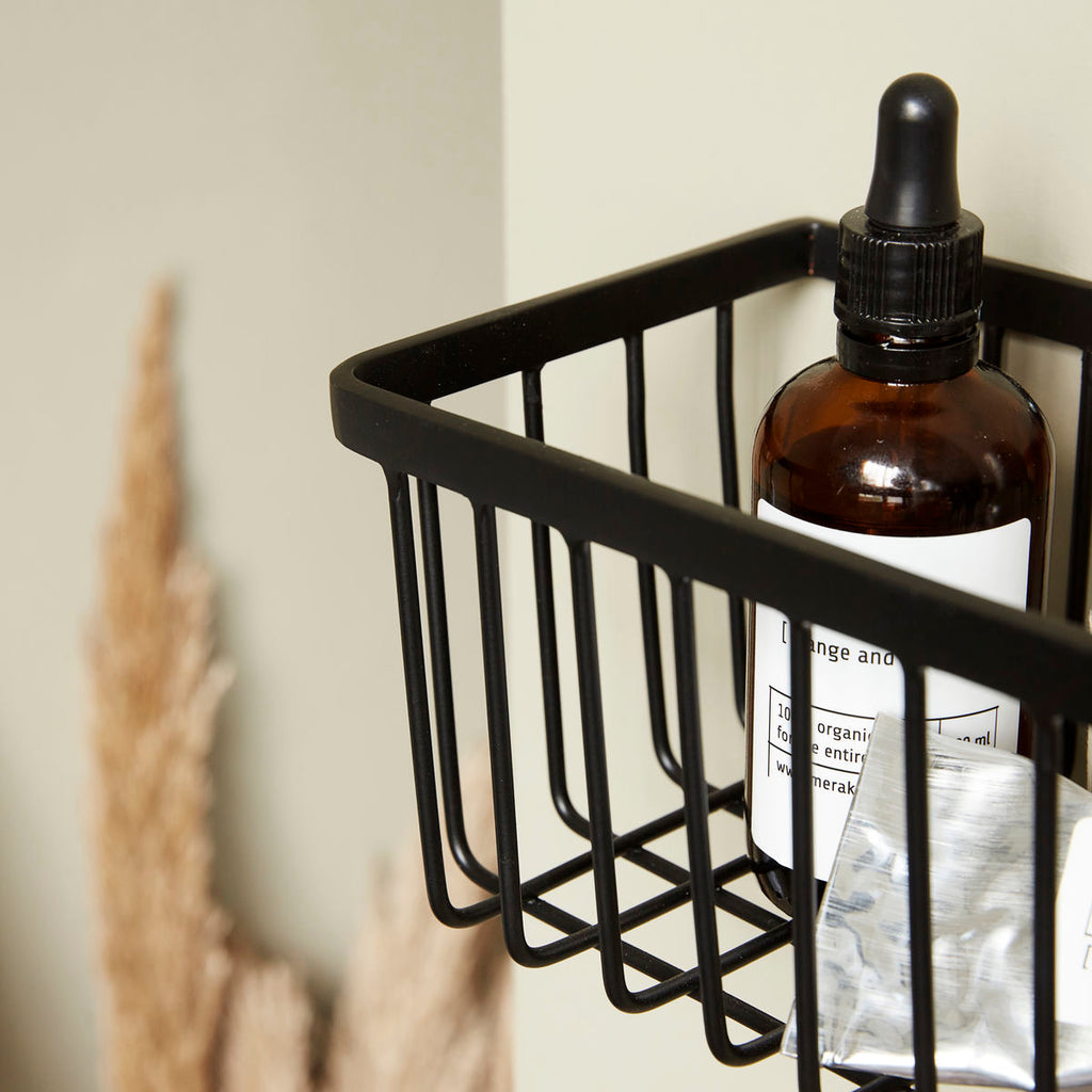 Bath Basket - Black