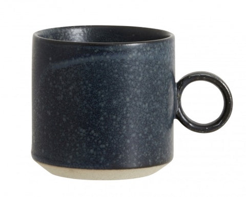 Grainy Cup Dark Blue - Set of 2