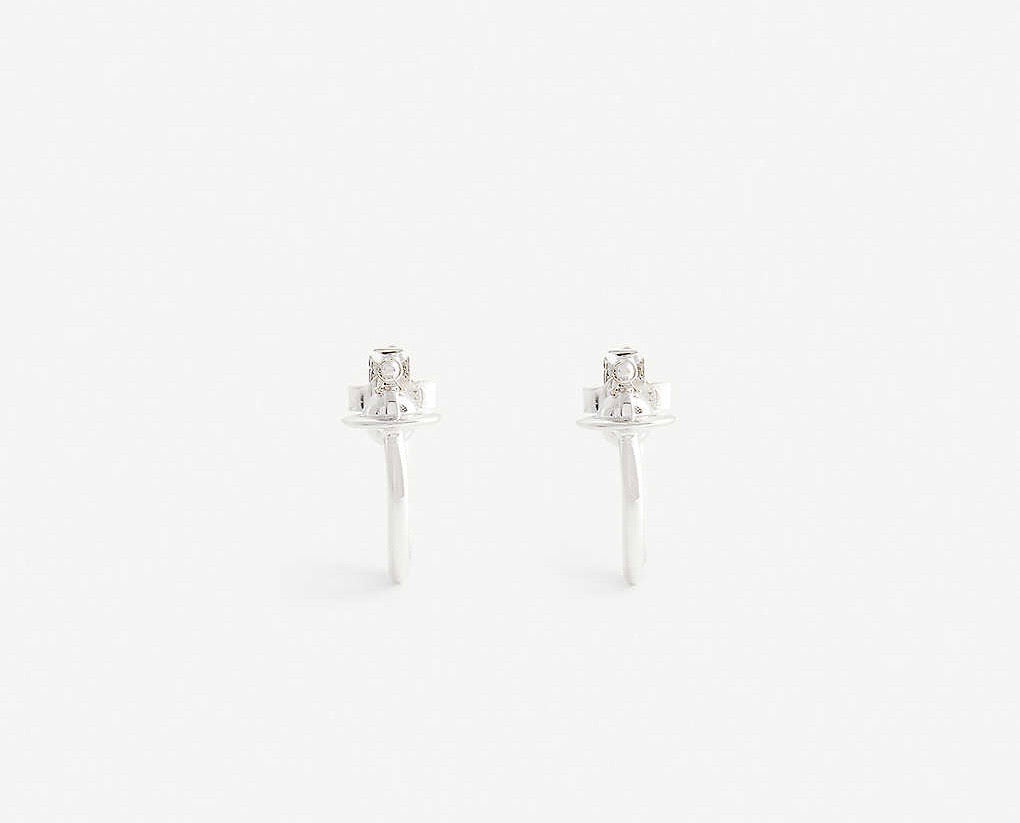 Vivienne Westwood Vera Earrings - Rhodium