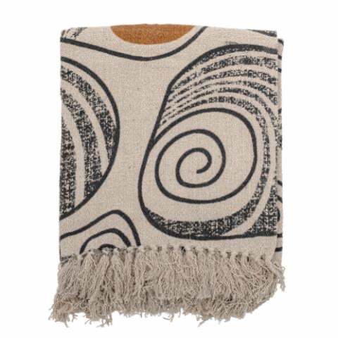 Throw, Nature, Recycled Cotton