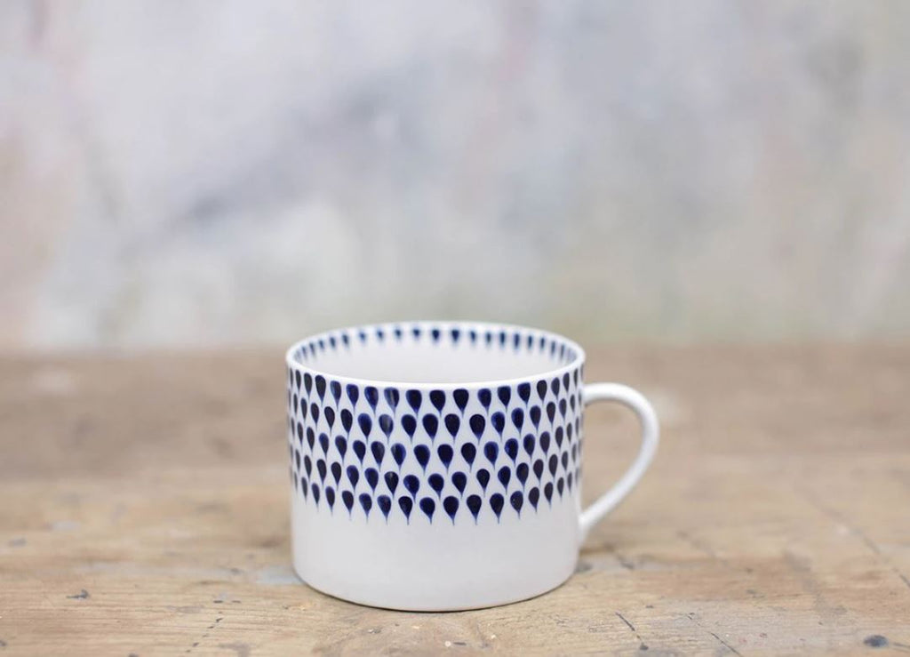 Indigo Drop Mug - large