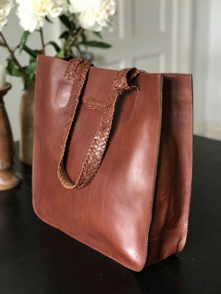 CollardManson Heida Bag- Brown Leather