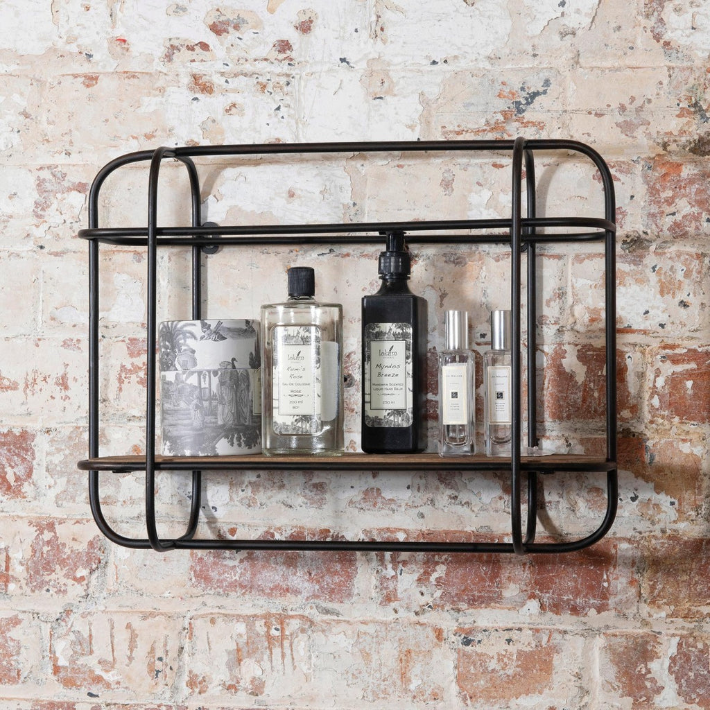 FRAMED WALL SHELF