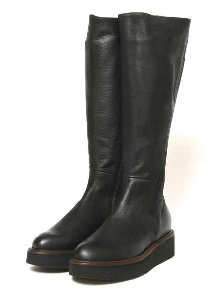 Lofina Tall Boot- Gasoline Nero