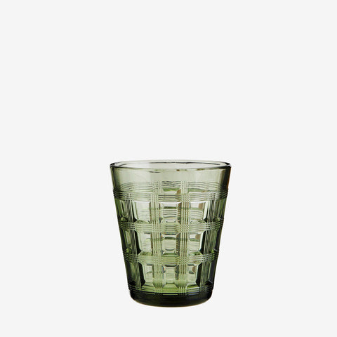 Coffee Glass- Forest Green