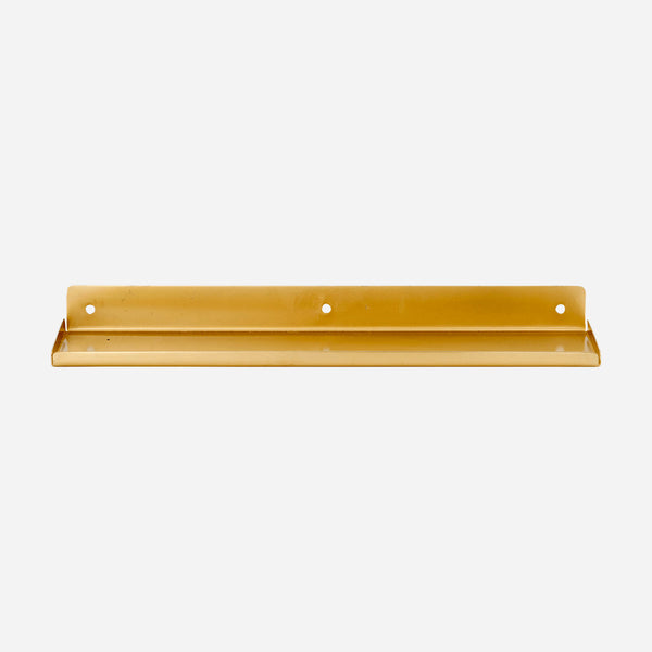 Brass Ledge Shelf