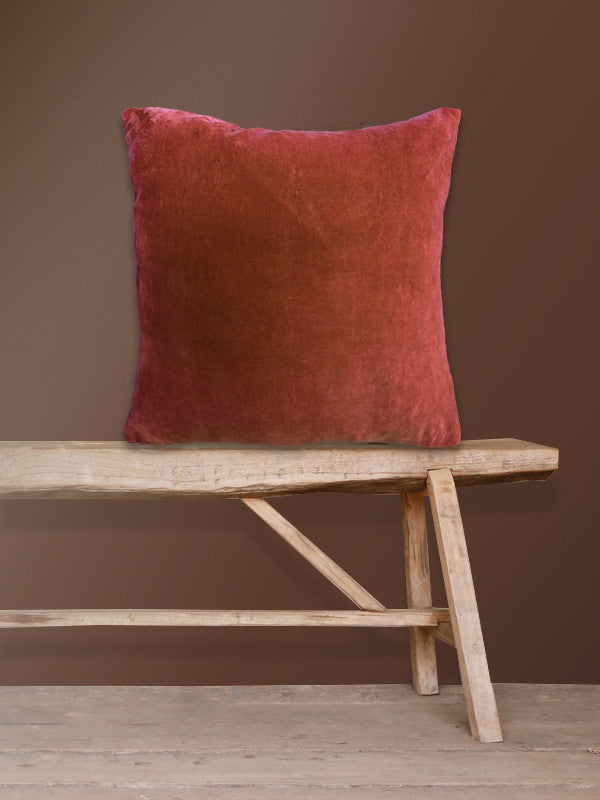 Velvet Cushion Berry