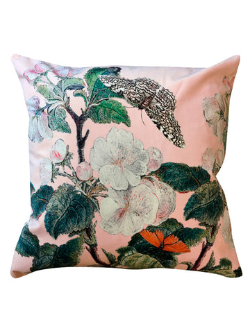 Velvet Cushion Appleblossom-nude