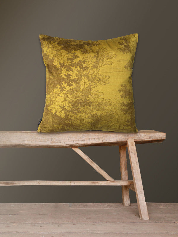 Mustard Woods Cushion