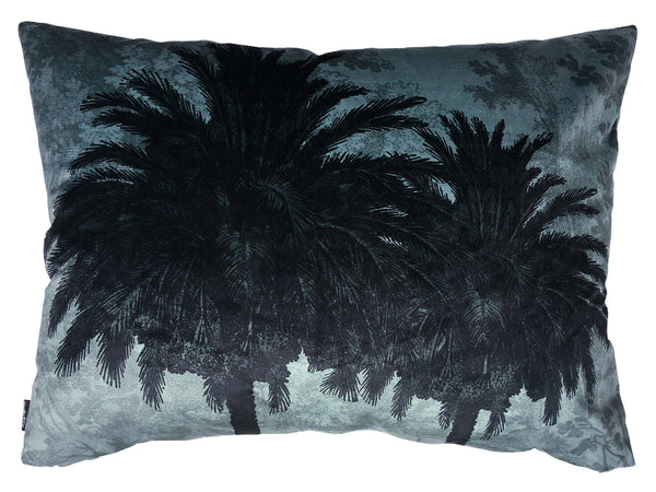 Big Blue Palm Cushion