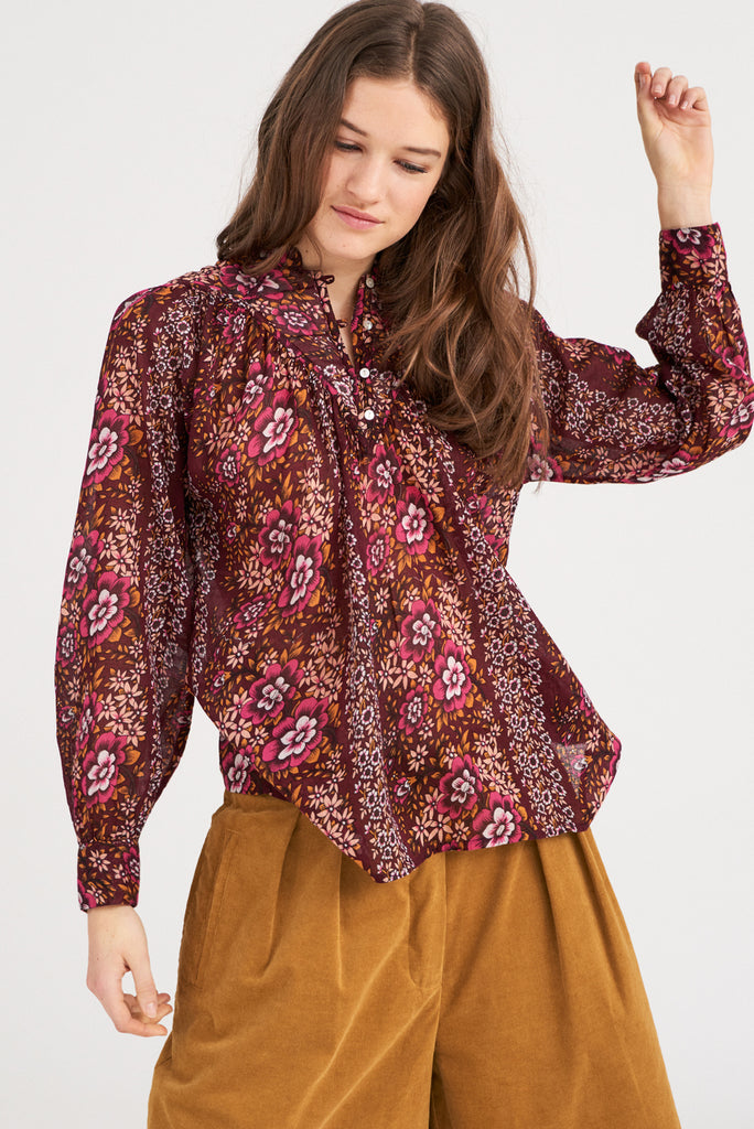 Antik Batik Lady Floral Blouse