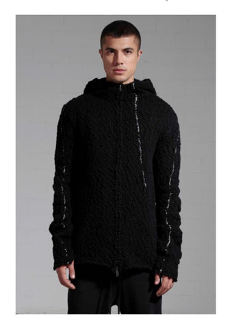 thom/krom AW18 Mens Knit Black
