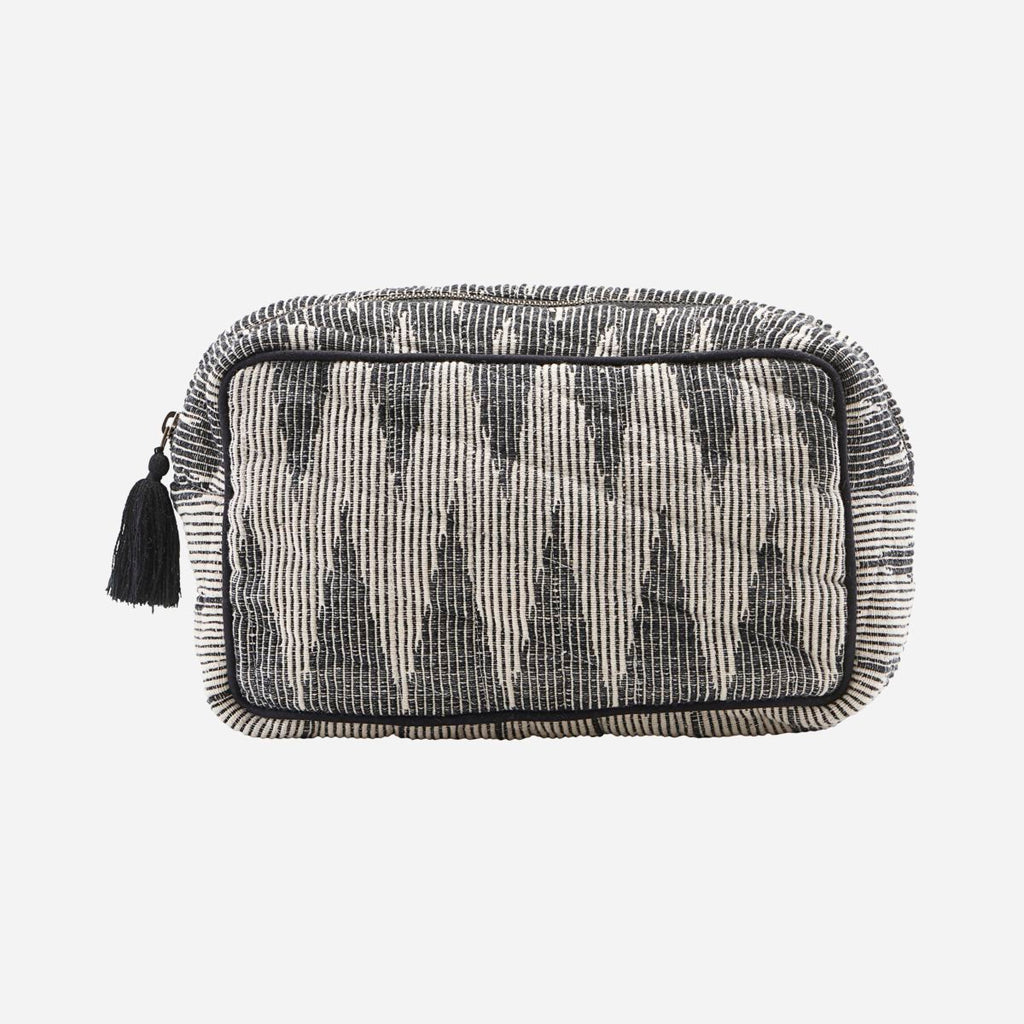 Toiletry bag, Grey/White