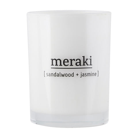 Meraki Candle - Sandalwood & Jasmine (Large)