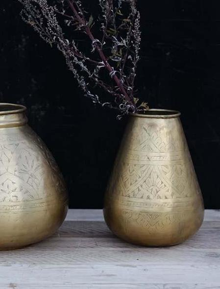 Nami Brass Pot