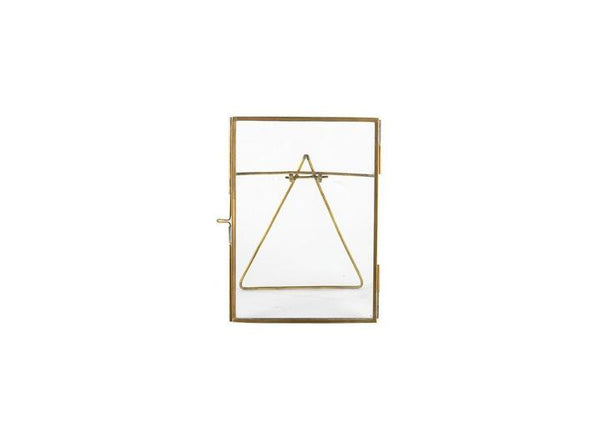 Danta Antique Brass Frame 4 x 6