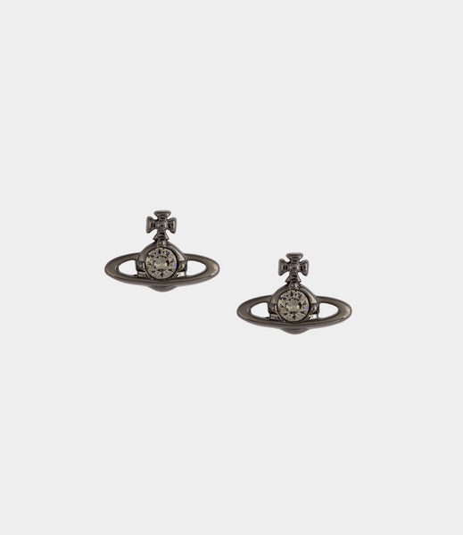 Vivienne Westwood Nano Solitaire Earrings - Black Diamond