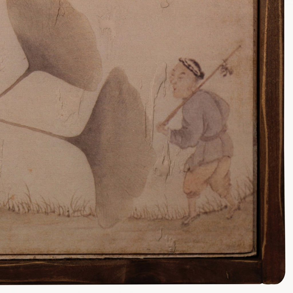 BROOKBY SET OF 2 CHINESE WALL ART