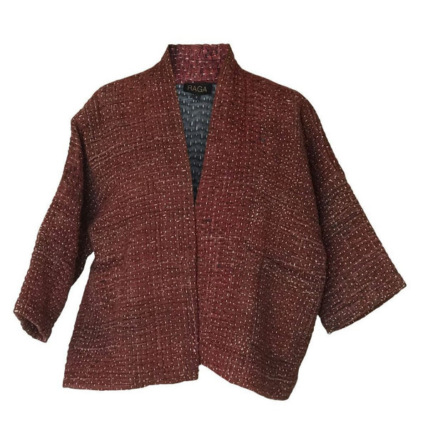 Yavi Raga Duwan Jacket - Red